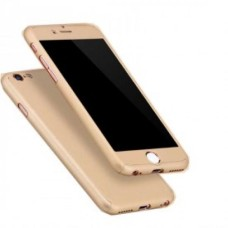360 Degree Protection Ultra Thin Case Compatible For iPhone SE/5S/5 - Gold