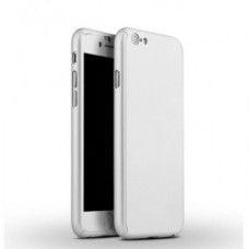 360 Degree Protection Ultra Thin Case Compatible For iPhone 7 - Silver